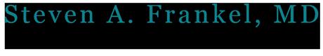 Steven A Frankel, MD Logo